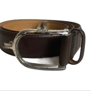 Ariat Hand Crafted Full Grain Leather Belt Sz 30